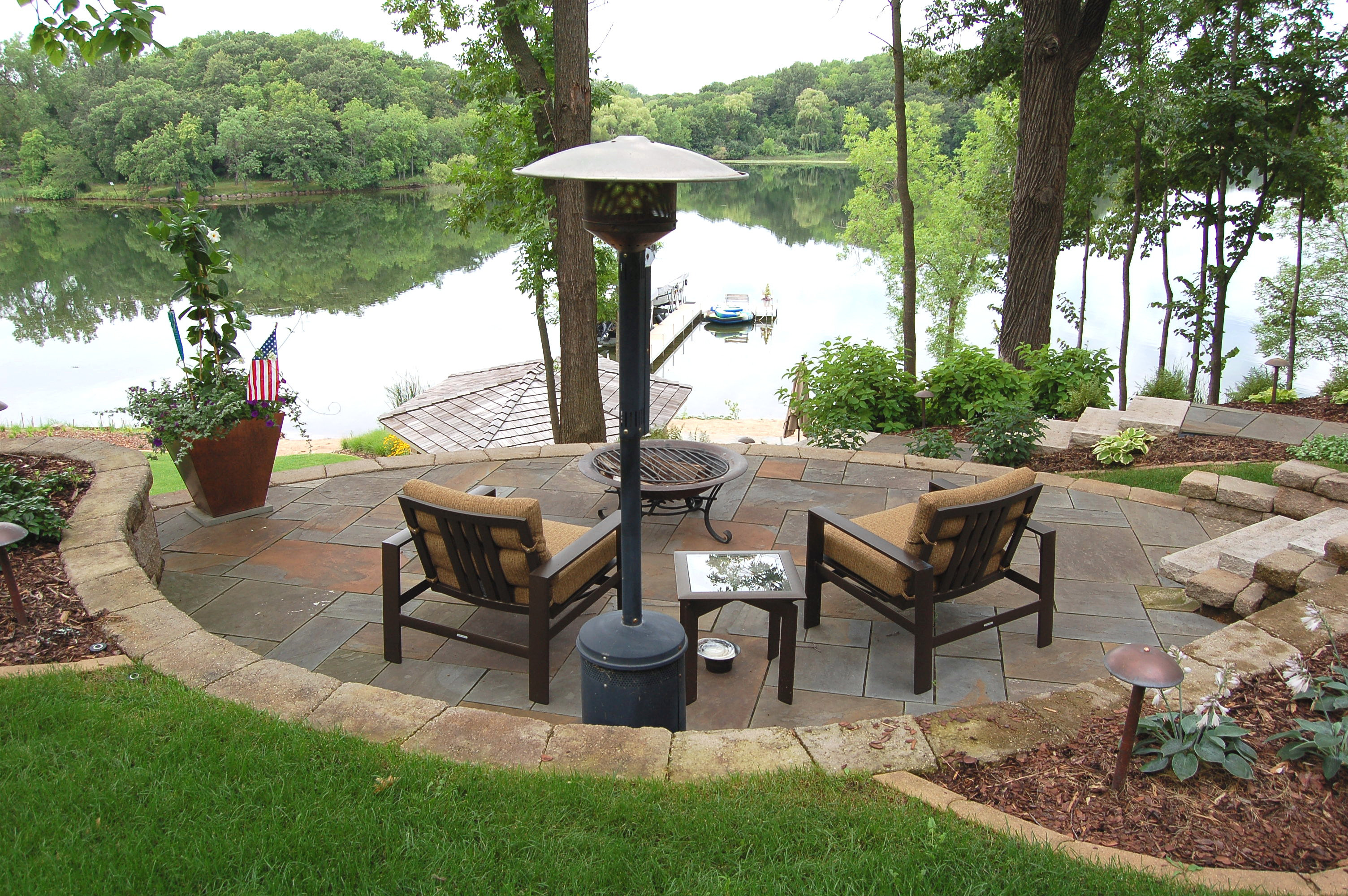 Bachmans landscaping for Lakeside designs