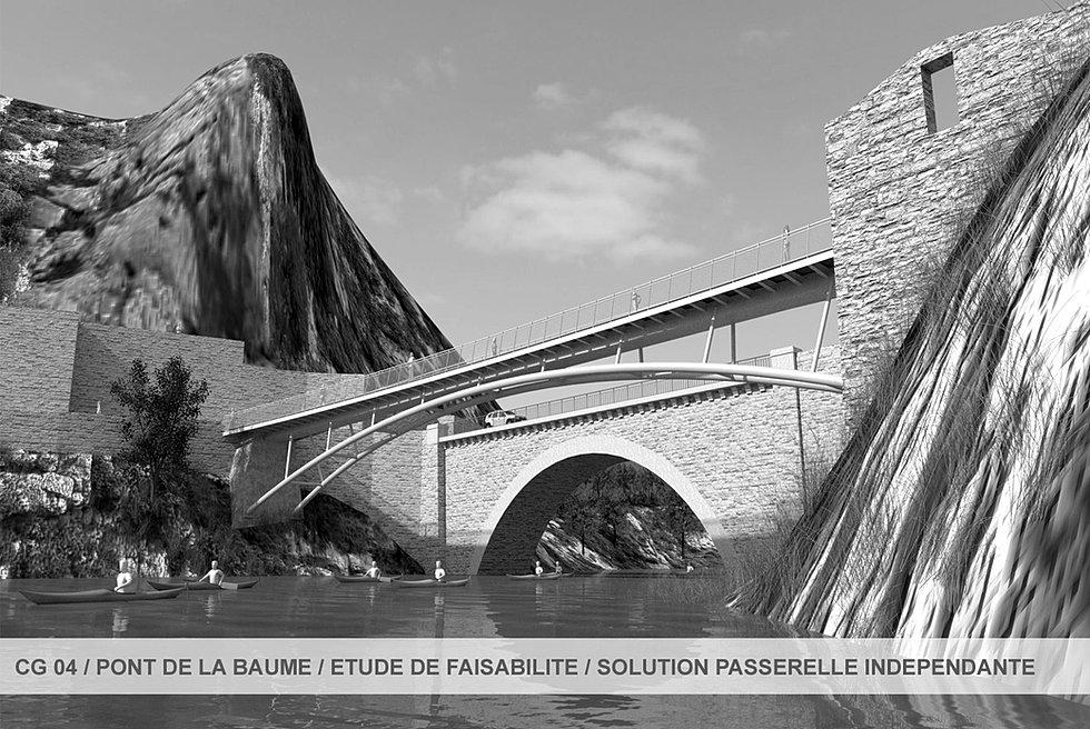 Architecte ouvrage d 39 art et passerelle xavier delafont architecte dplg - Ouvrage d architecture ...