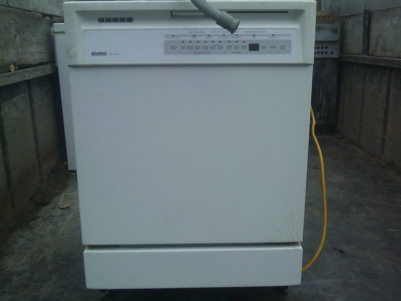 kenmore dishwasher model 665 manual