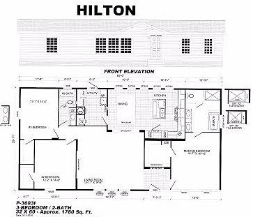 Showcase portfolio hilton for Portfolio home plans