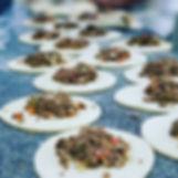 produção esfiha de carne