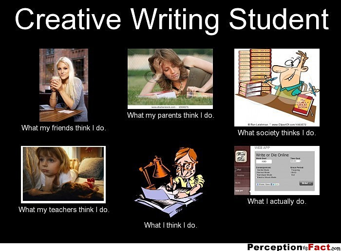 Creative writing now