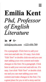 Academic CV
