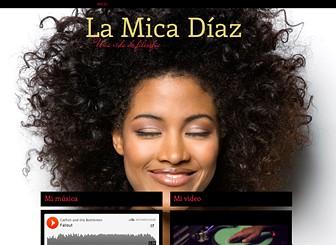Mi sitio de música Template - Llena tu web de ritmo con esta plantilla web de una sola página. Sube videos y canciones, pasa la voz sobre conciertos y comparte noticias con tus fans. ¡Personaliza el diseño y color para crear una web en armonía con tu estilo!