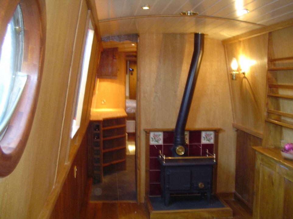 Martin baker narrowboat design and custom narrowboat for Narrowboat interior designs
