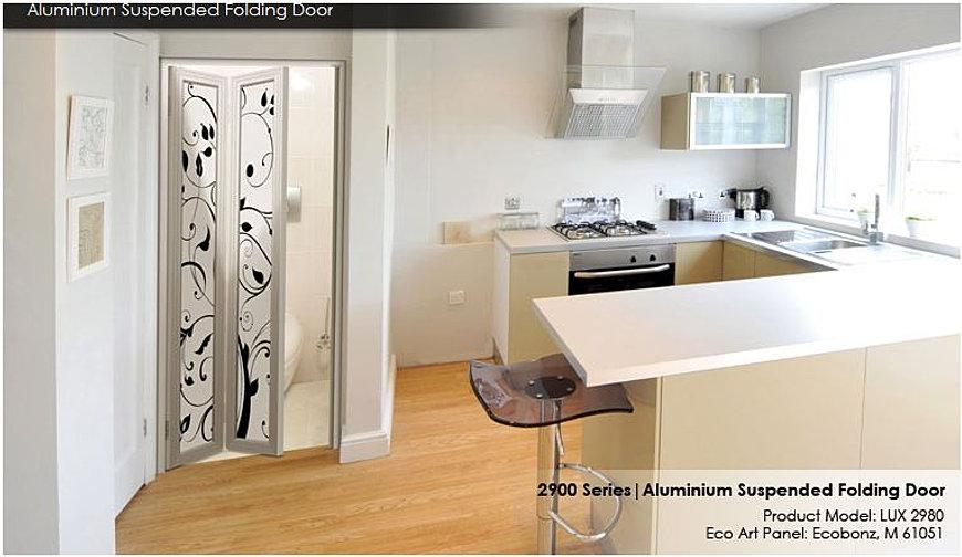 Fascinating Bi Fold Toilet Door Images Plan 3D House Goles Us