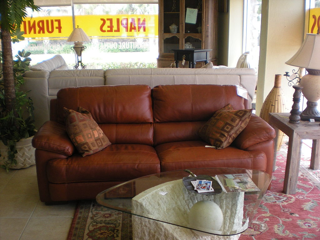 High End Leather Sofa