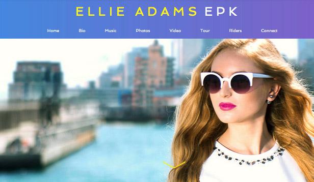 Cantante Pop EPK