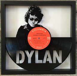 Lp Vinyl Art Cut Records Framed Art