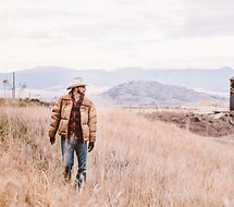 Cowboy in the Countryside