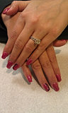 Acrylic Nails with Gel Polish and Ar