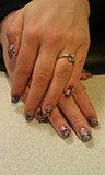 Animal Print Acrylic Nails