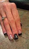 Chanel Acrylic Nails