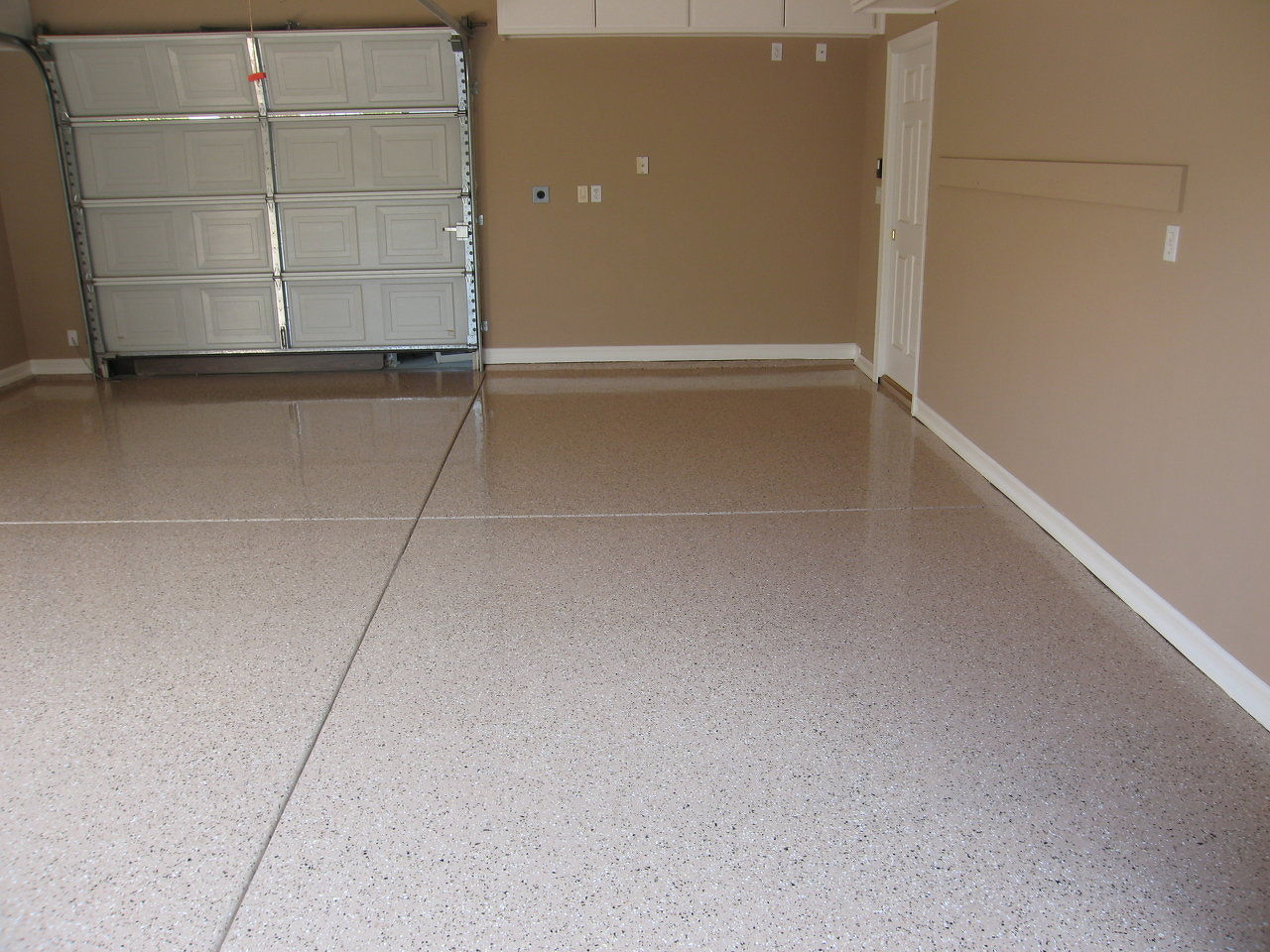 Prep For Epoxy Garage Floor : Garage cabinets and epoxy floor coatings california