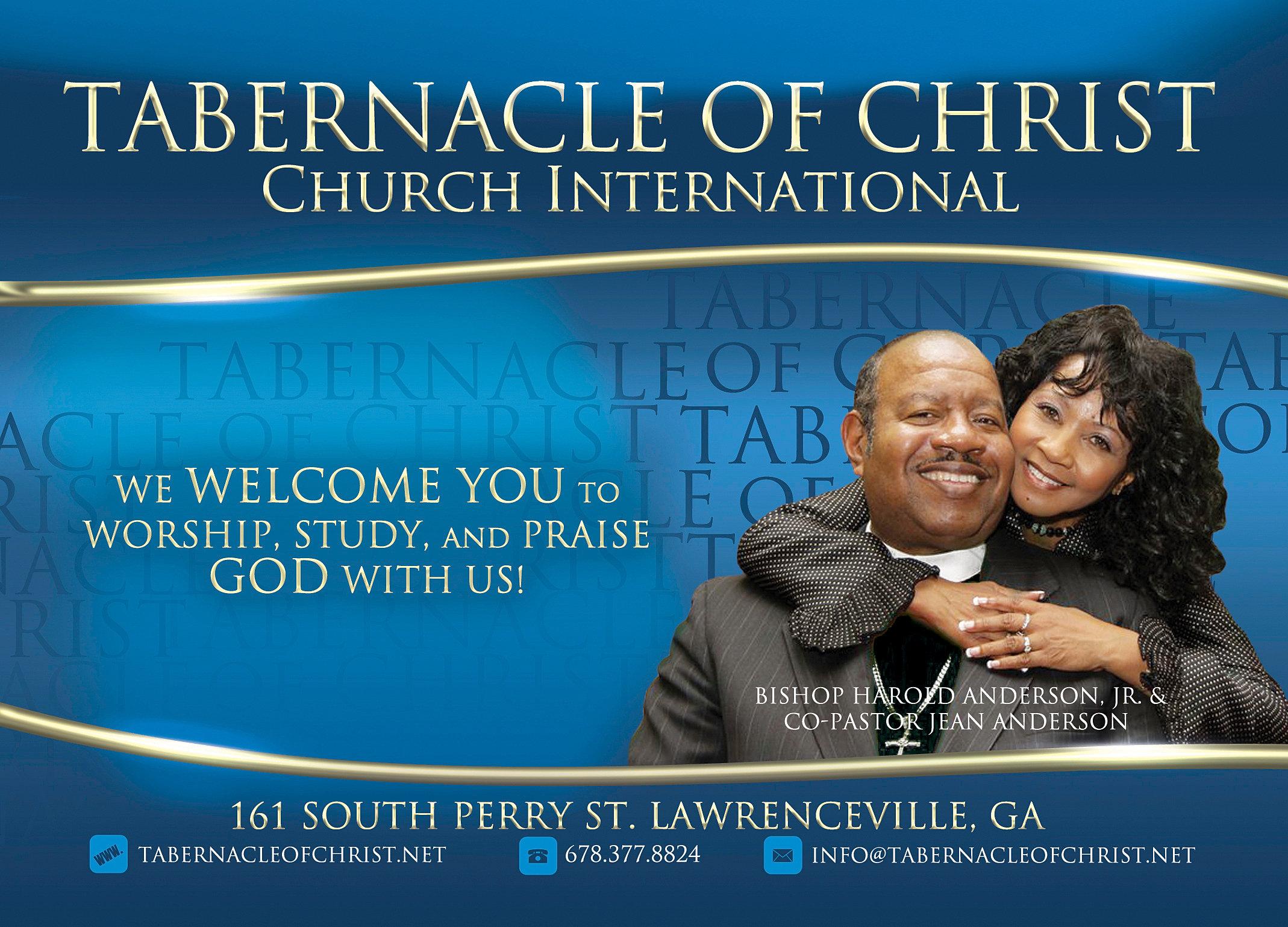 church handbill