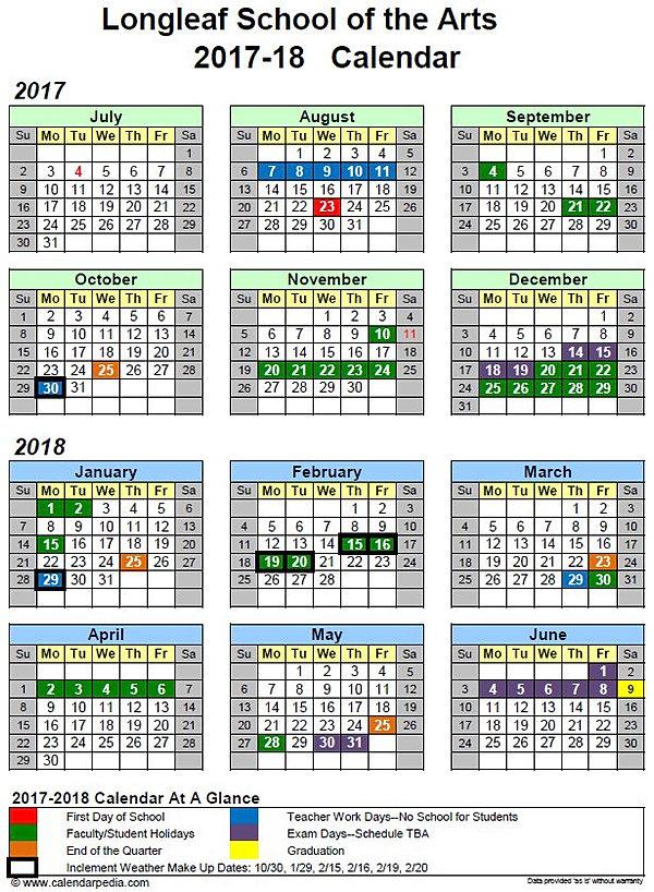daily schedule calendar