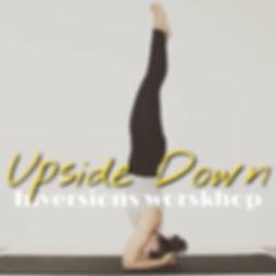 yoga inversions workshop linköping