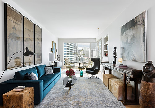 Eclectic Escala Living Area