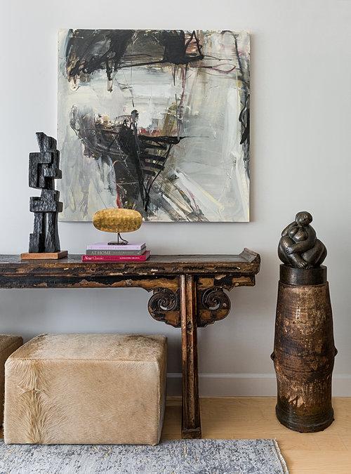 Eclectic Escala Living Area