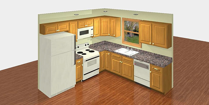 20 by 10 kitchen layout home design ideas essentials for Kitchen design 10 x 10