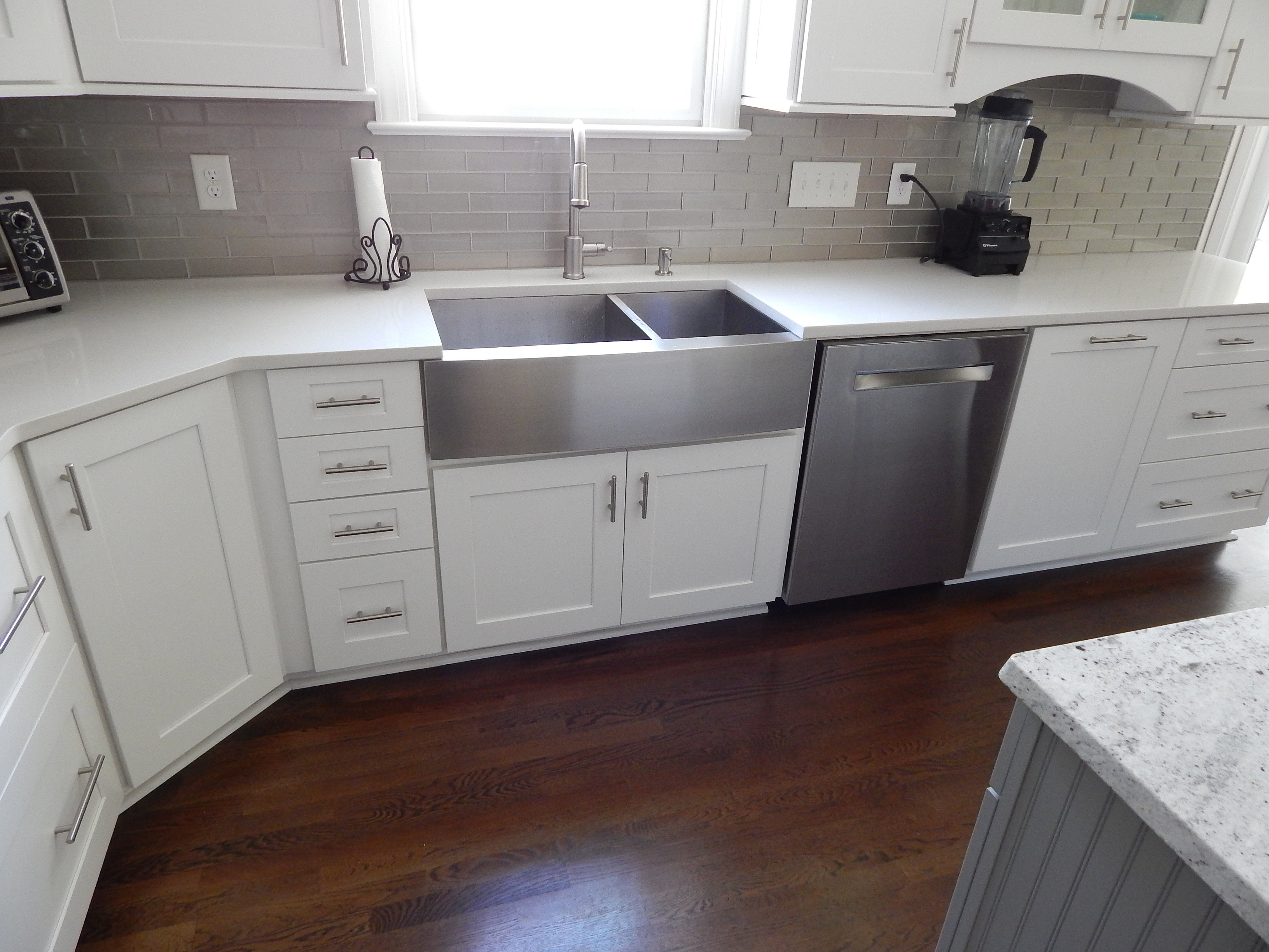 Linen Kitchen Cabinets