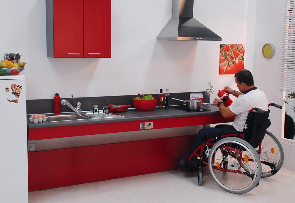 Nouveaut une cuisine adapt e au handicap livr e cl s en for Ou acheter sa cuisine amenagee