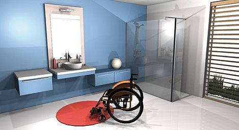 Bevorzugt Hauteur lavabo handicape ~ faire mieux pour votre maison OA95