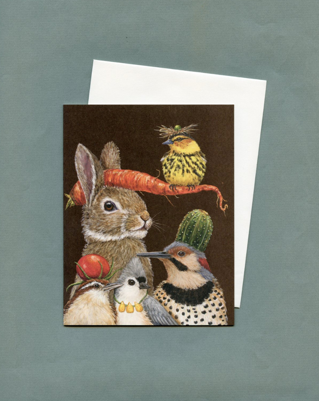 Artist Vicki Sawyers Cards From Fat Finch Boutique For Bird Lovers