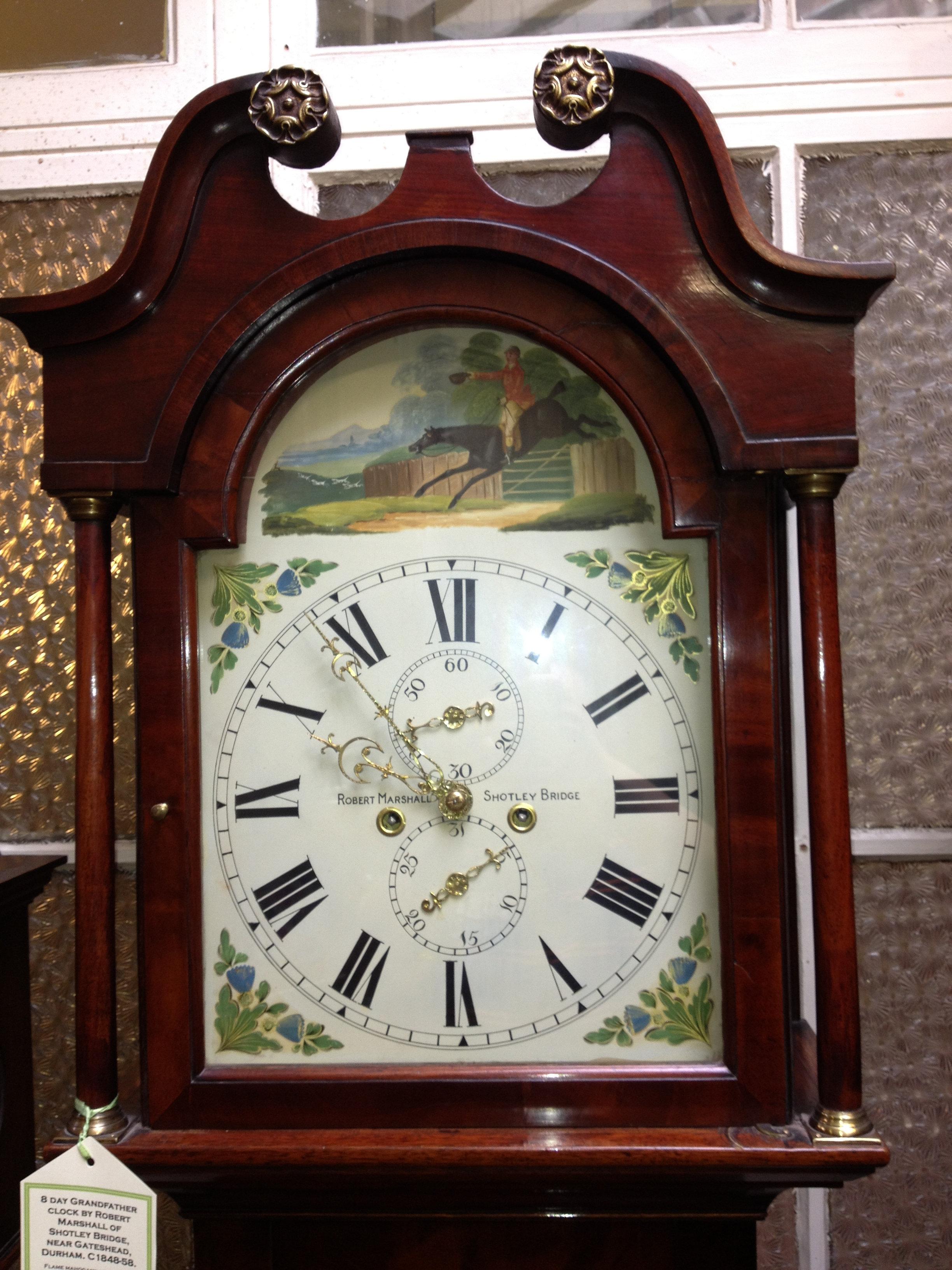 newark antiques centre clocks. Black Bedroom Furniture Sets. Home Design Ideas