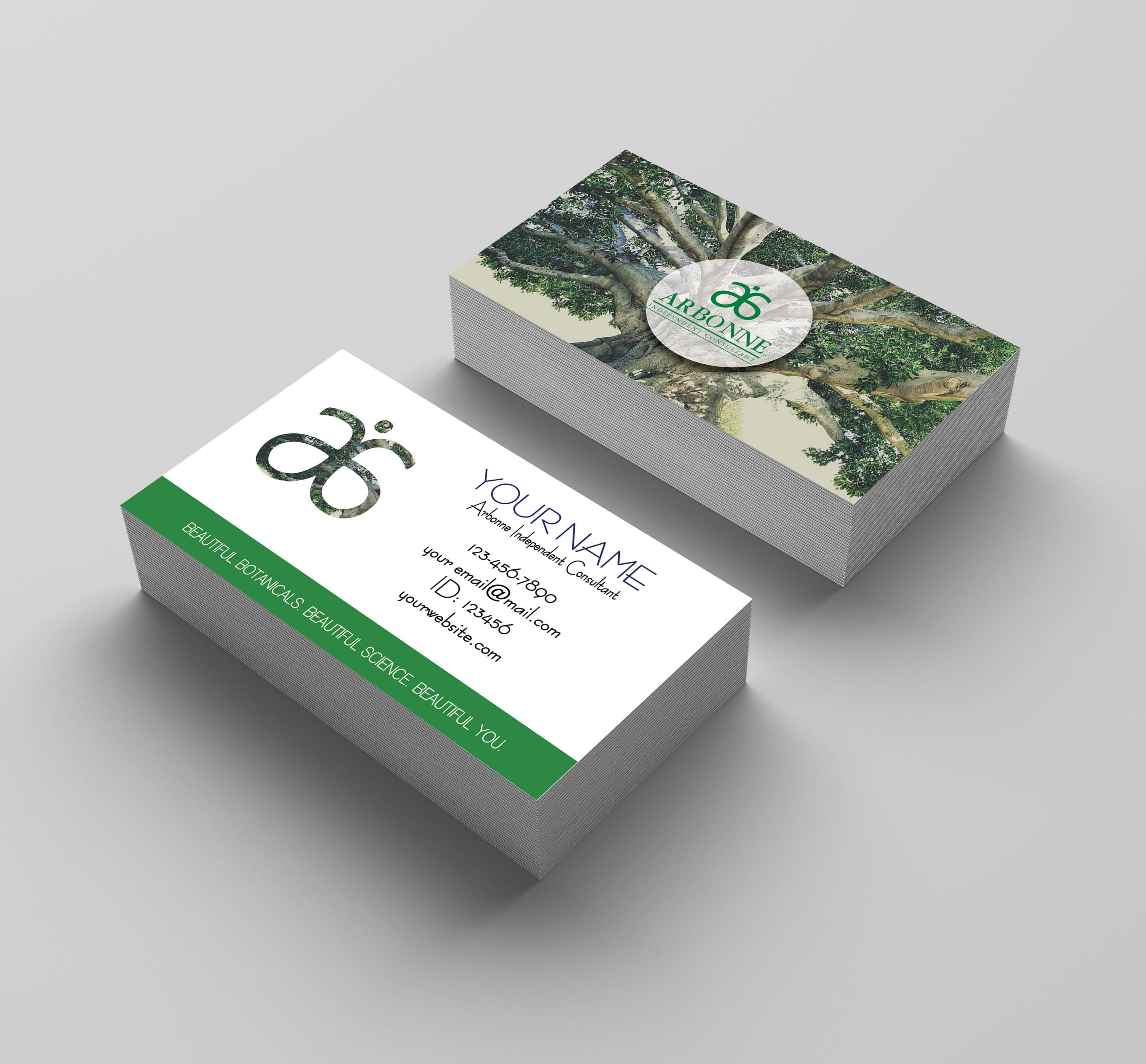 Kakao Designs | Arbonne Business card