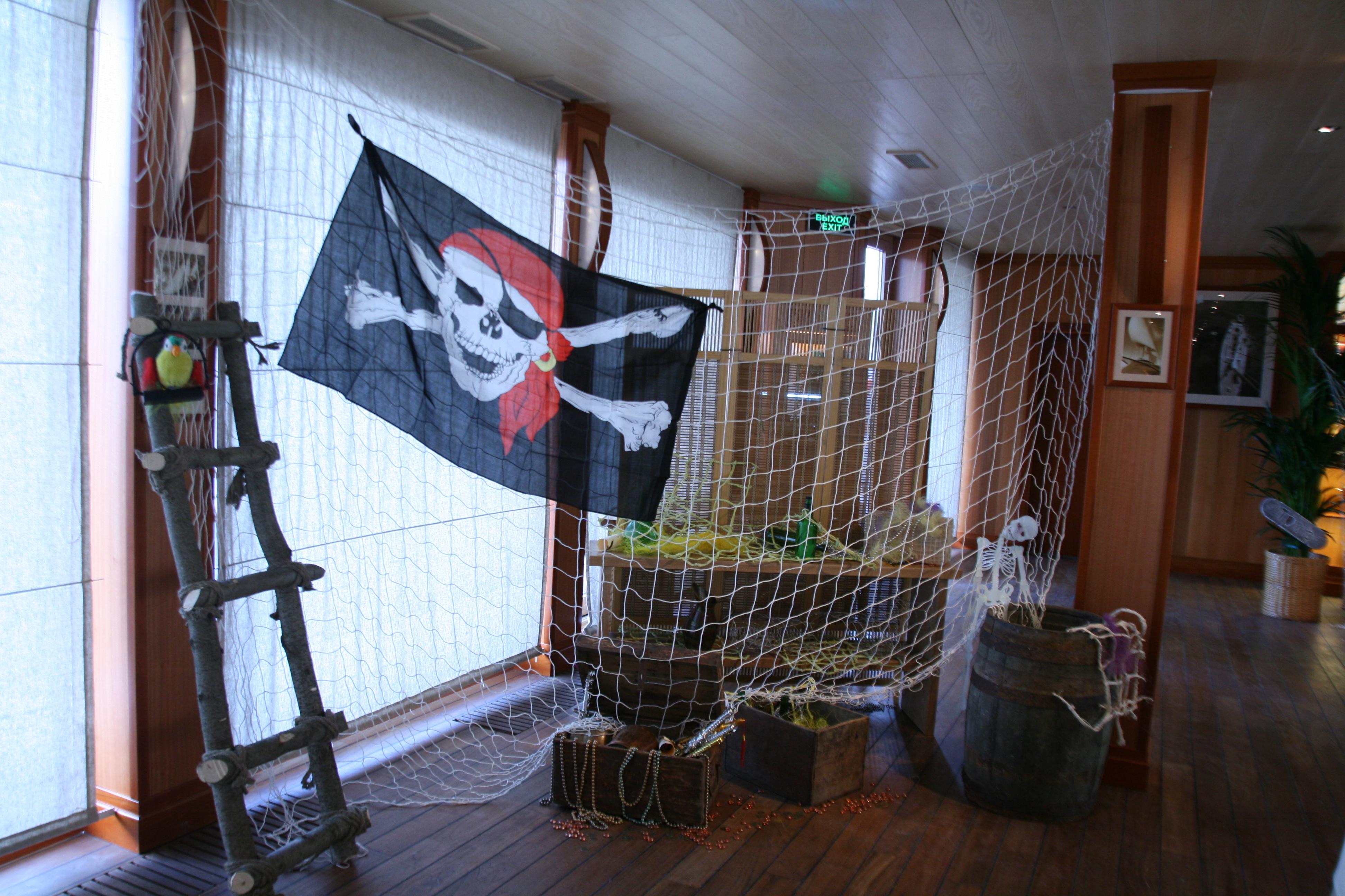 Украшаем пиратскую вечеринку своими руками 97