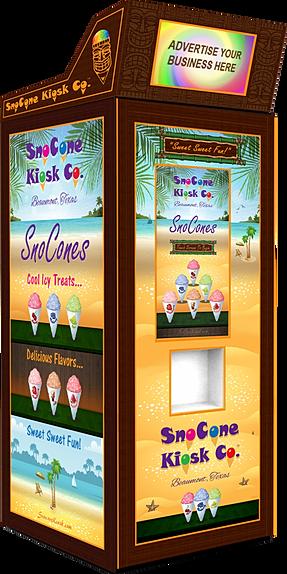 snow cone vending machine