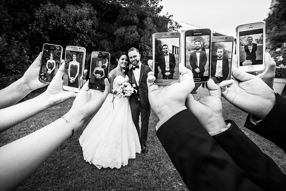 Photo mariage groupe originale - Photo de mariage ...