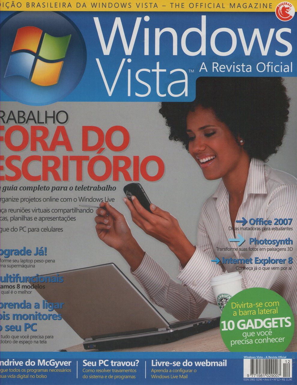 Capa Revista Windows Vista