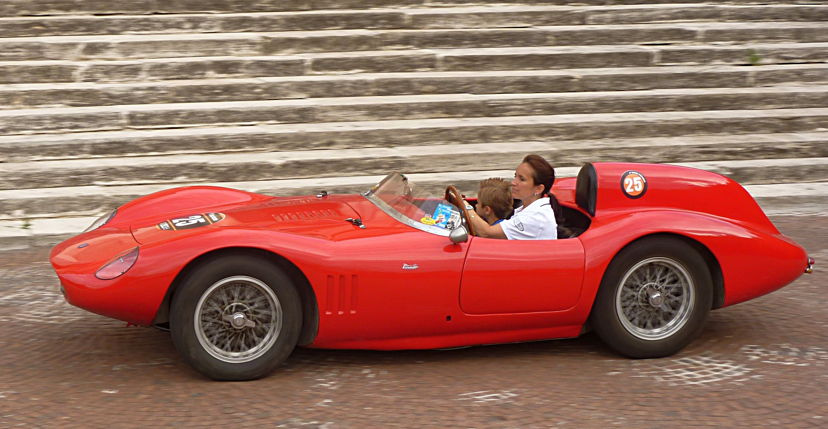 Historic Automotive Promotion 1958 Osca Maserati 372 F2