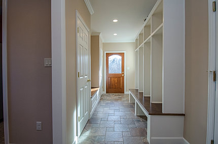 Philadelphia main line renovation company mudroom for Mudroom pantry