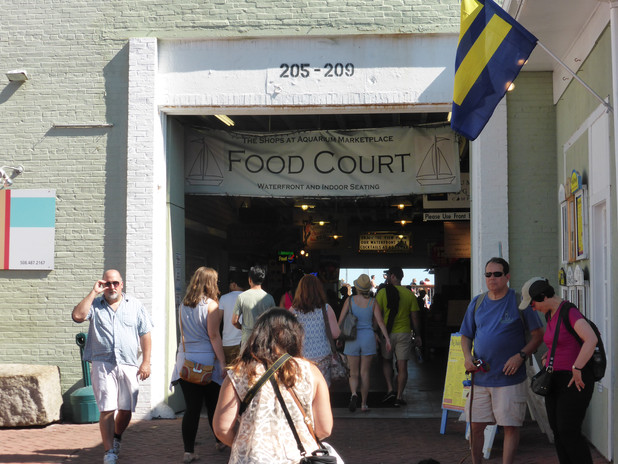 Food Court Provincetown Massachusetts