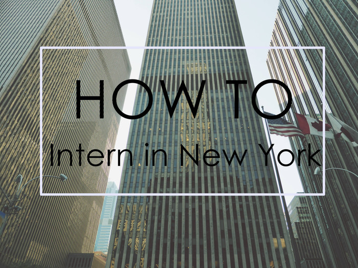 how to find an internship in new york city