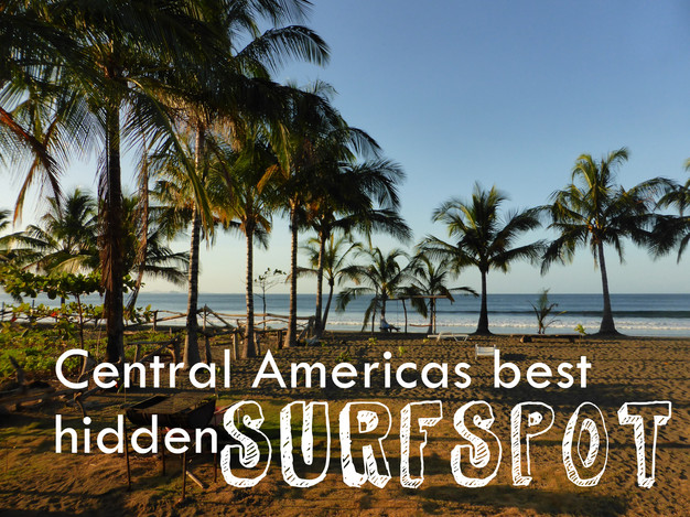 Central Americas best hidden Surfspot