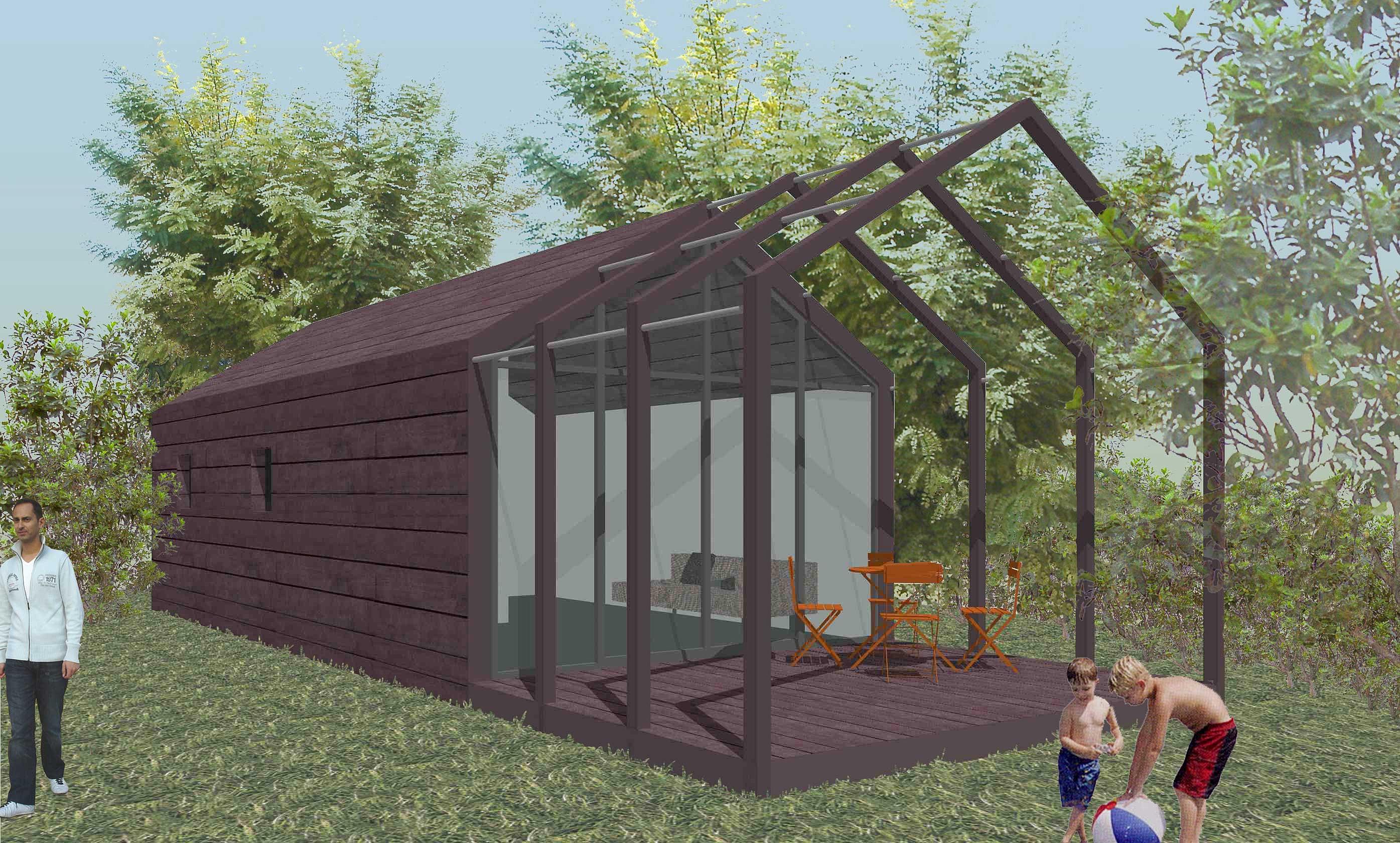 Philippe gonnet architecte avignon habitation l g re de loisir - Habitation de loisirs en bois ...