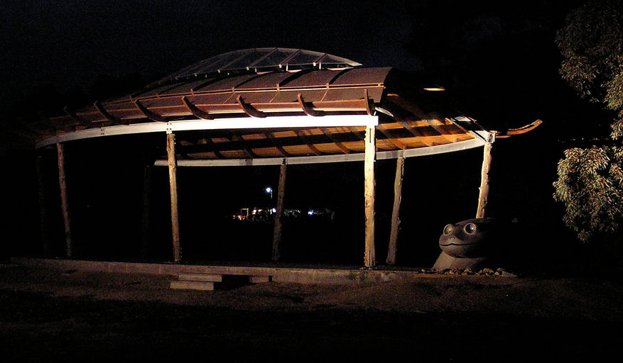 the turtle pavillion