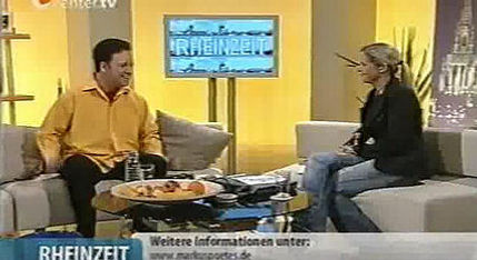 Zauberer Markus Poétes - Live bei center.tv