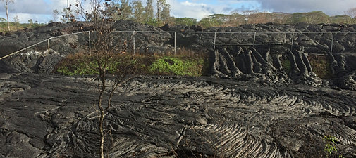 Pahoa June 27th Lava Flow