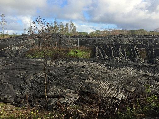 Pahoa June 27th Lava Flow