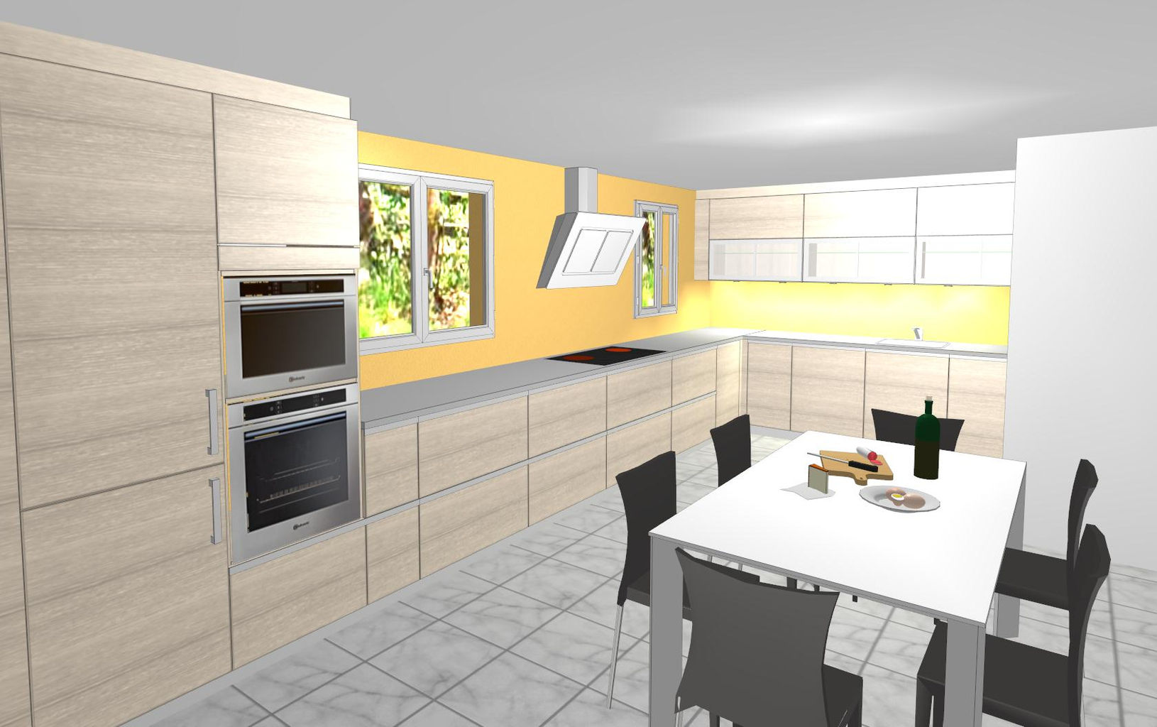 Progettare Cucina 3d Gratis. Good Amazing Elegant Progetto With ...