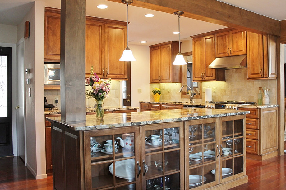 Blue mountain kitchens kitchen cabinets in conifer co 80433 for Mountain kitchen designs