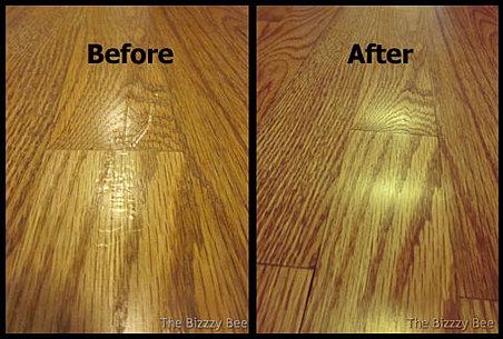 Hardwood Scratch Repair