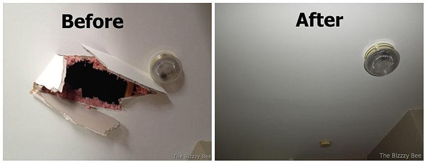 ceiling city drywall peachtree repair
