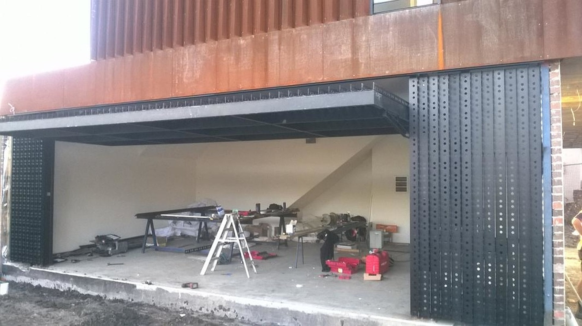 Architectural Steel Garages : Architectural steel garage doors