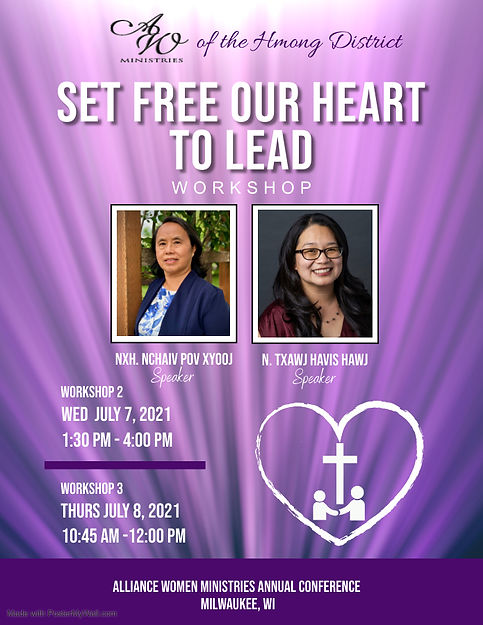 Set Free To Lead Workshop - Made with Po